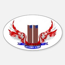 world trade center 911 memorial Decal