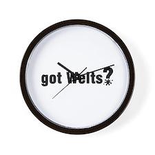 Got Paintball Welts Wall Clock