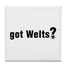 Got Paintball Welts Tile Coaster