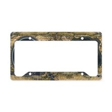 Louis XIV Historical License Plate Holder