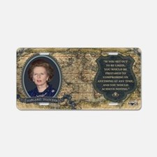 Margaret Thatcher Historica Aluminum License Plate
