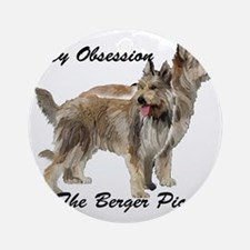 Berger Picard Obsession Round Ornament