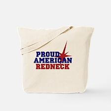 Proud American Redneck Tote Bag