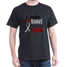 Angel 1 MOTHER Lung Cancer T-Shirt