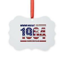 1964 Made In America Ornament