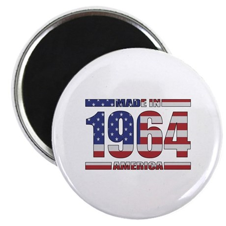 "1964 Made In America 2.25"" Magnet (100 pack)"