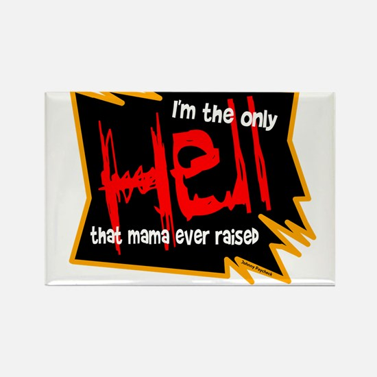Only Hell-Johnny Paycheck Magnets