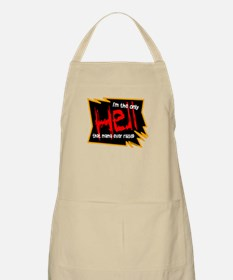 Only Hell-Johnny Paycheck Apron