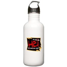 Only Hell-Johnny Paycheck Water Bottle