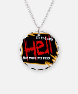 Only Hell-Johnny Paycheck Necklace