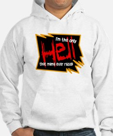 Only Hell-Johnny Paycheck Hoodie