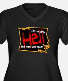 Only Hell-Johnny Paycheck Plus Size T-Shirt