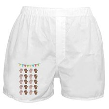 100 Days of School  Boxer Shorts