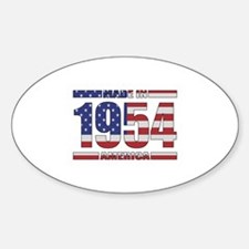 1954 Made In America Decal