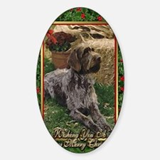 German Wirehaired Pointer Dog Chris Decal