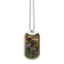 German Wirehaired Pointer Dog Christmas Dog Tags