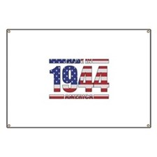 1944 Made In America Banner