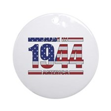 1944 Made In America Ornament (Round)