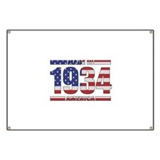 1934 Made In America Banner