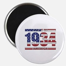 "1934 Made In America 2.25"" Magnet (10 pack)"