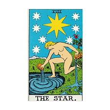 THE STAR TAROT CARD Decal