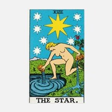 THE STAR TAROT CARD Decal