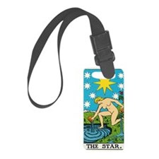THE STAR TAROT CARD Luggage Tag