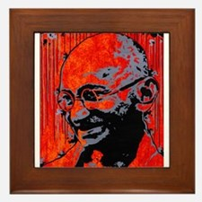gandhi button.png Framed Tile