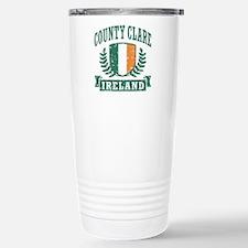 County Clare Ireland Stainless Steel Travel Mug