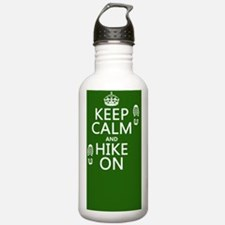 Keep Calm and Hike On Water Bottle