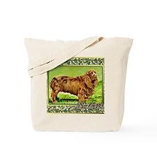 Sussex Spaniel Dog Christmas Tote Bag