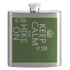Keep Calm and Hike On Flask