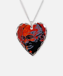 gandhi button.png Necklace