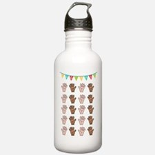 100 Days of School Water Bottle