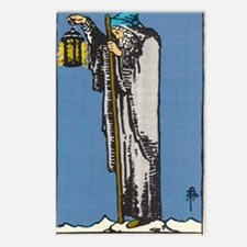 THE HERMIT TAROT CARD Postcards (Package of 8)