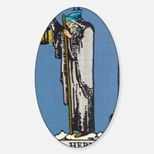 THE HERMIT TAROT CARD Decal