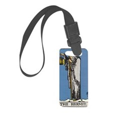 THE HERMIT TAROT CARD Luggage Tag