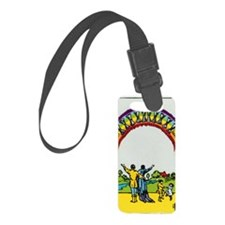 TEN OF CUPS Tarot Card Luggage Tag