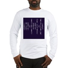 Keep Calm and HTML Long Sleeve T-Shirt