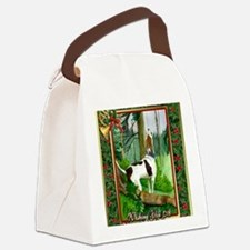 Treeing Walker Coonhound Dog Chri Canvas Lunch Bag