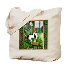 Treeing Walker Coonhound Dog Christmas Tote Bag
