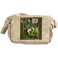 Treeing Walker Coonhound Dog Christm Messenger Bag