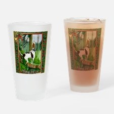 Treeing Walker Coonhound Dog Christ Drinking Glass