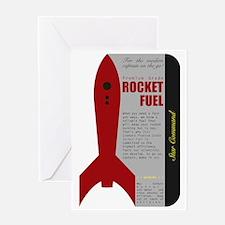 Rocket Fuel Greeting Card