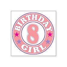 Birthday 8 Sticker