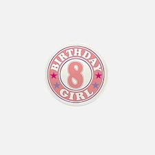 Birthday 8 Mini Button