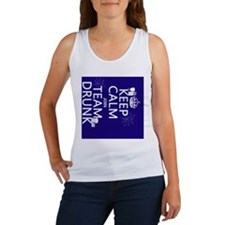 Keep Calm and Join Team Drunk Women's Tank Top