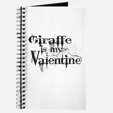 Giraffe is my Valentine Journal