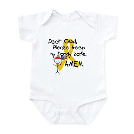 Keep Daddy Safe with Little Boy Infant Bodysuit