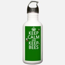 Keep Calm and Keep Bee Water Bottle